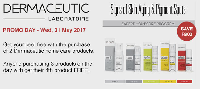 Dermaceutic Promo Day - Wednesday, 31 May '17