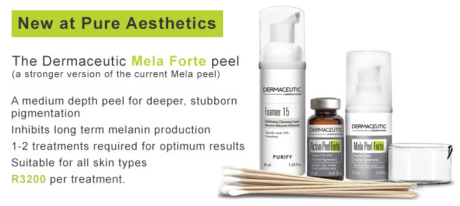 New! Dermaceutic Mela Peel Forte
