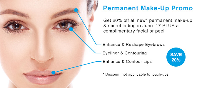 Permanent Make-Up Promo - Save 20%