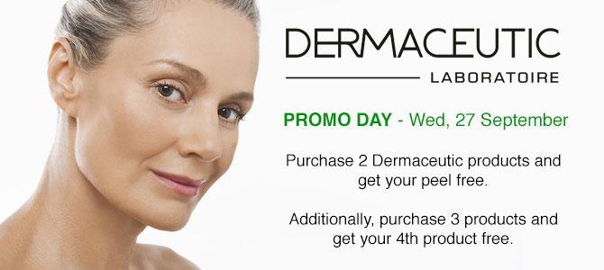 Dermaceutic Promo Day - Wed, 27 September