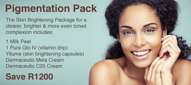 Pigmentation Pack - Save R1200