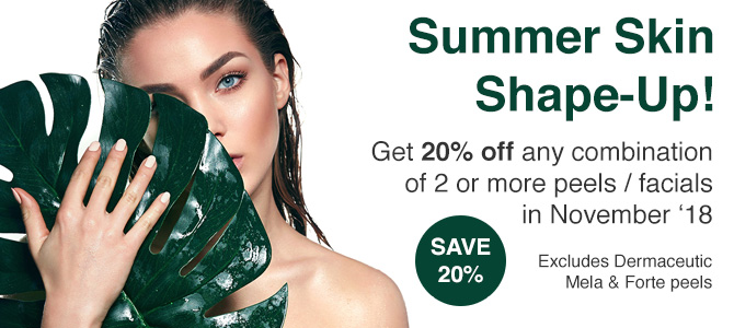 Summer Skin Shape-Up! Save 20%